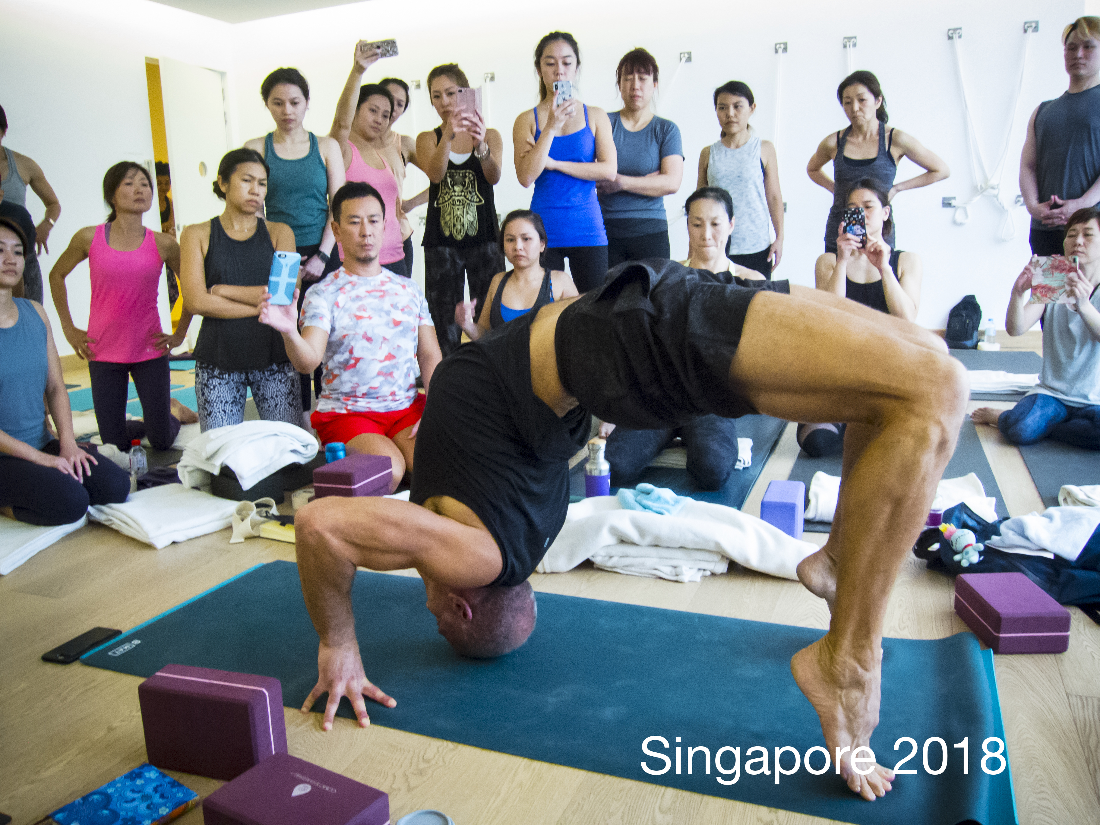 Andrew Rivin, Singapore 2018