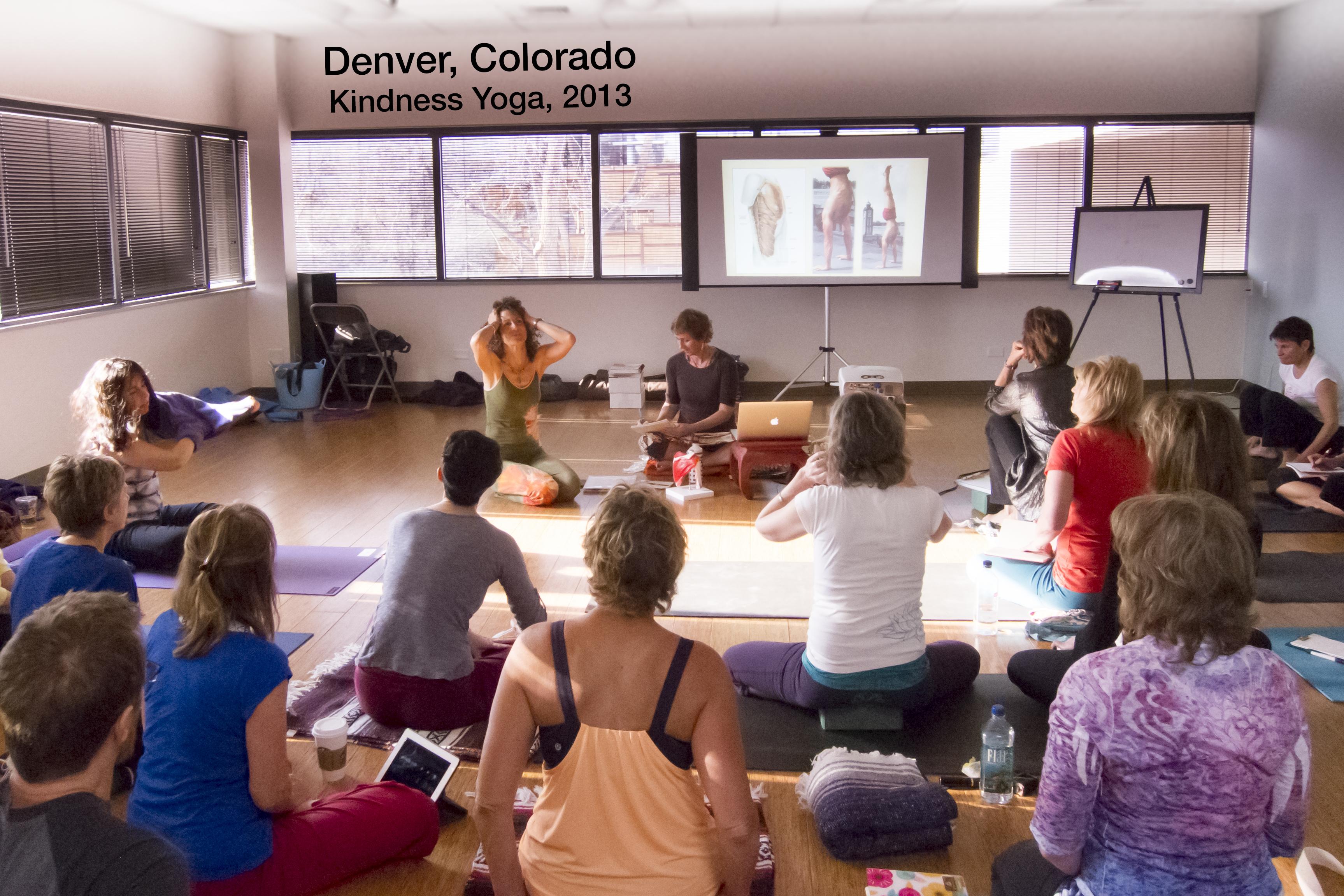 Wisdom Warriors, Kindness Yoga, Denver, Colorado