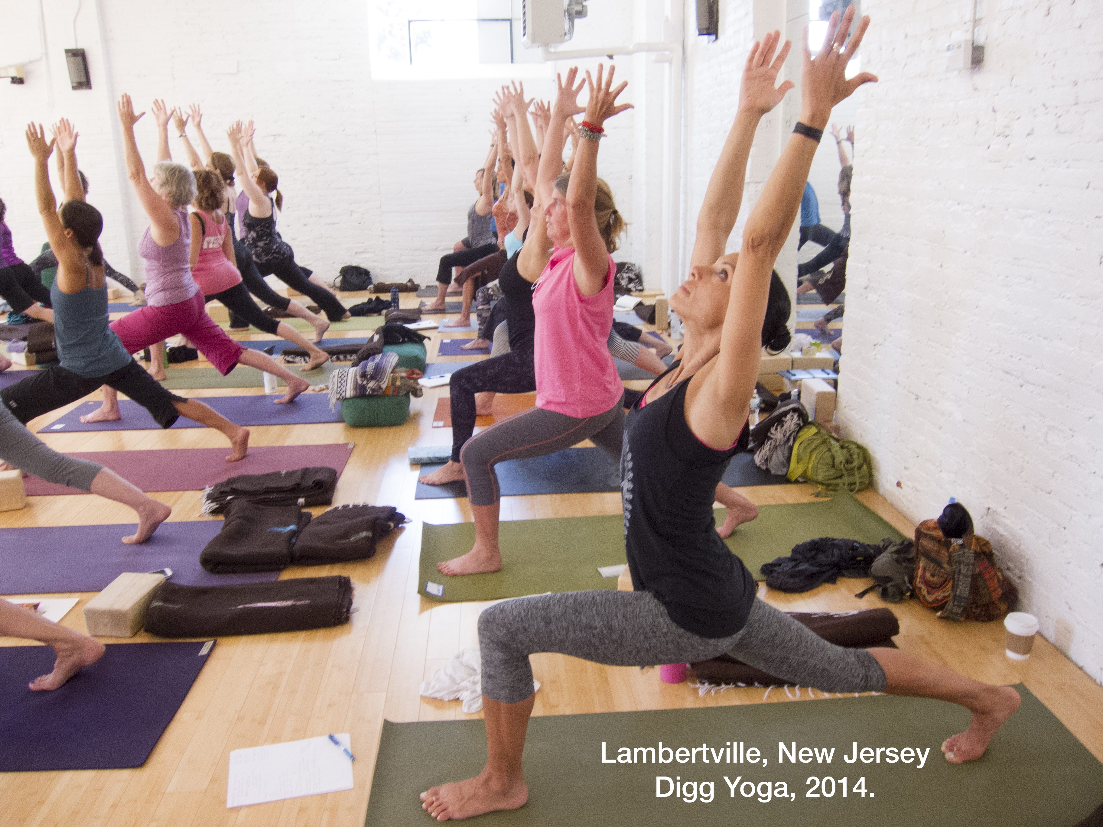 Digg Yoga, Lambertville, New Jersey