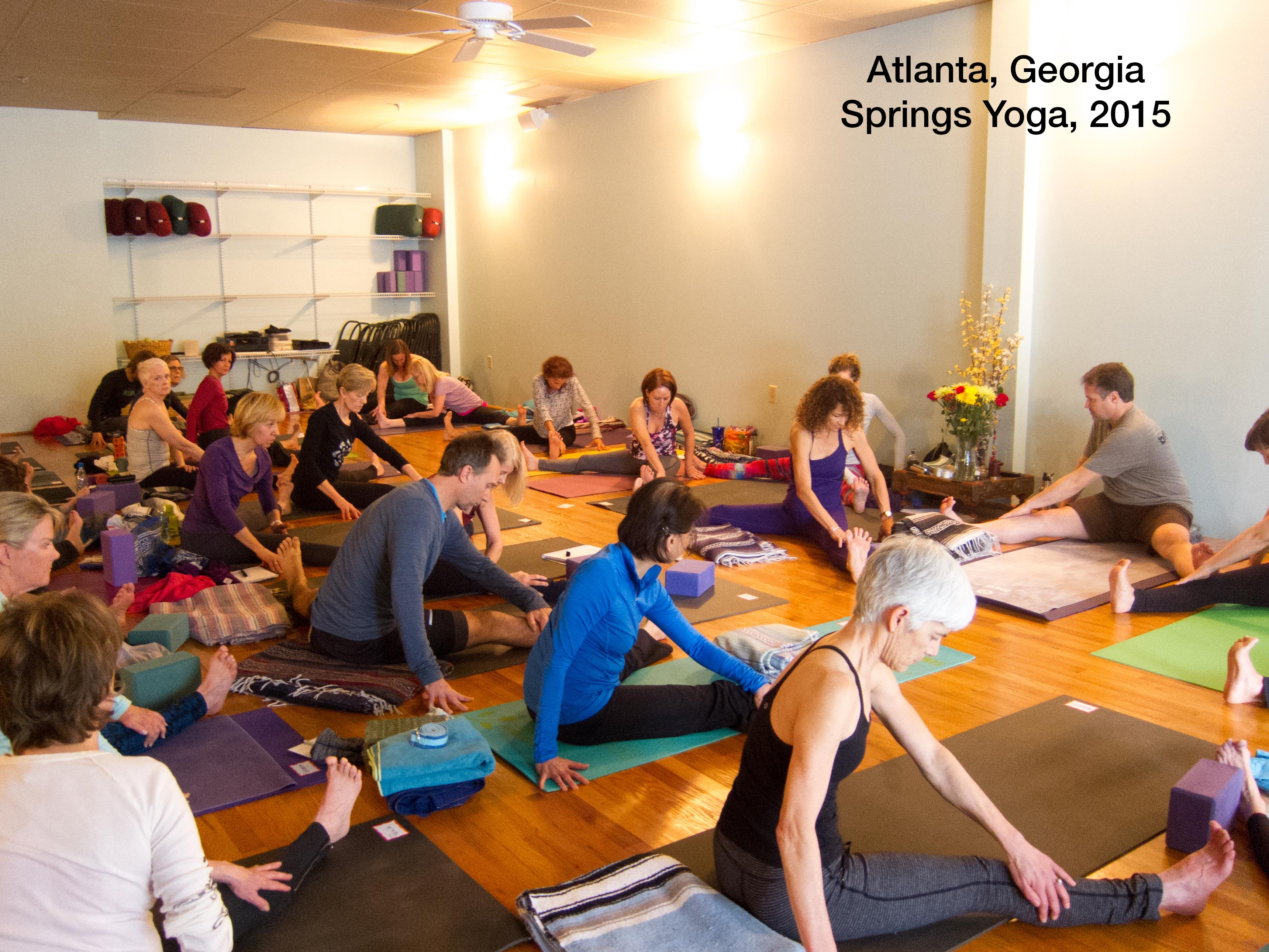 Springs Yoga, Atlanta, Georgia